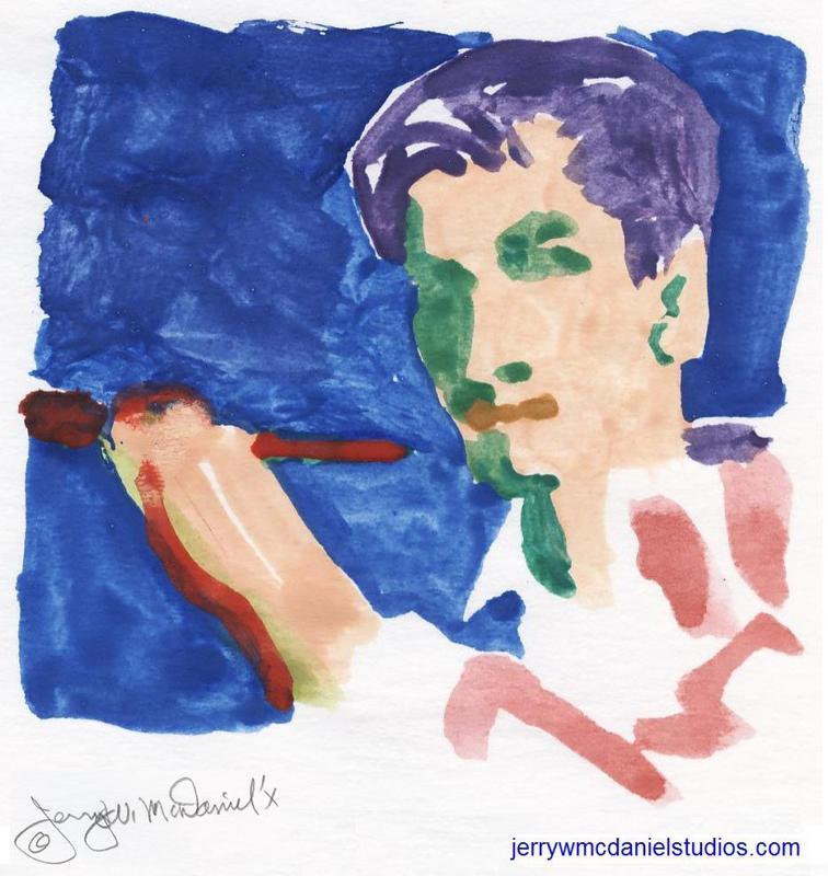 Portret Dimitrie Berea de Jerry W. McDaniel