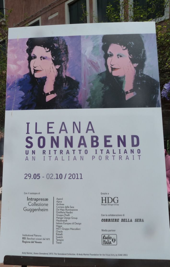 Anuntul Expoztiei Ileana Sonnabend