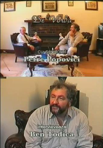 intervievandpescriitorulPetrePopovici.