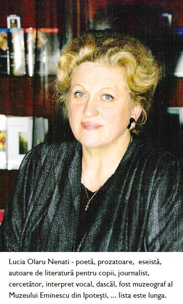 Lucia Olaru Nenati - scriitoare, publicista, etc.