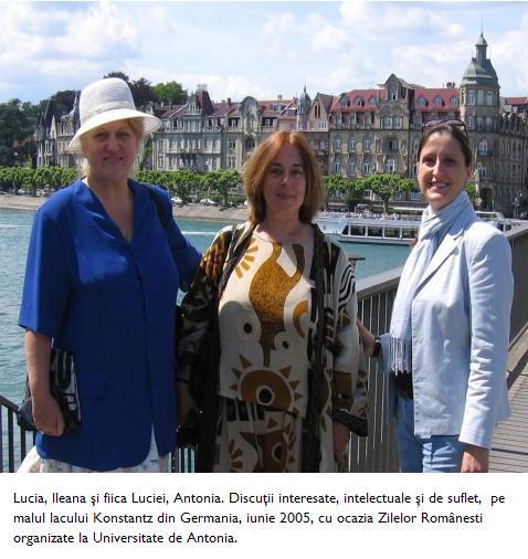Lucia - Ileana - Antonia pe malul lacului Konstanz