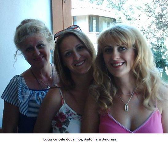 Lucia si cele doua fete